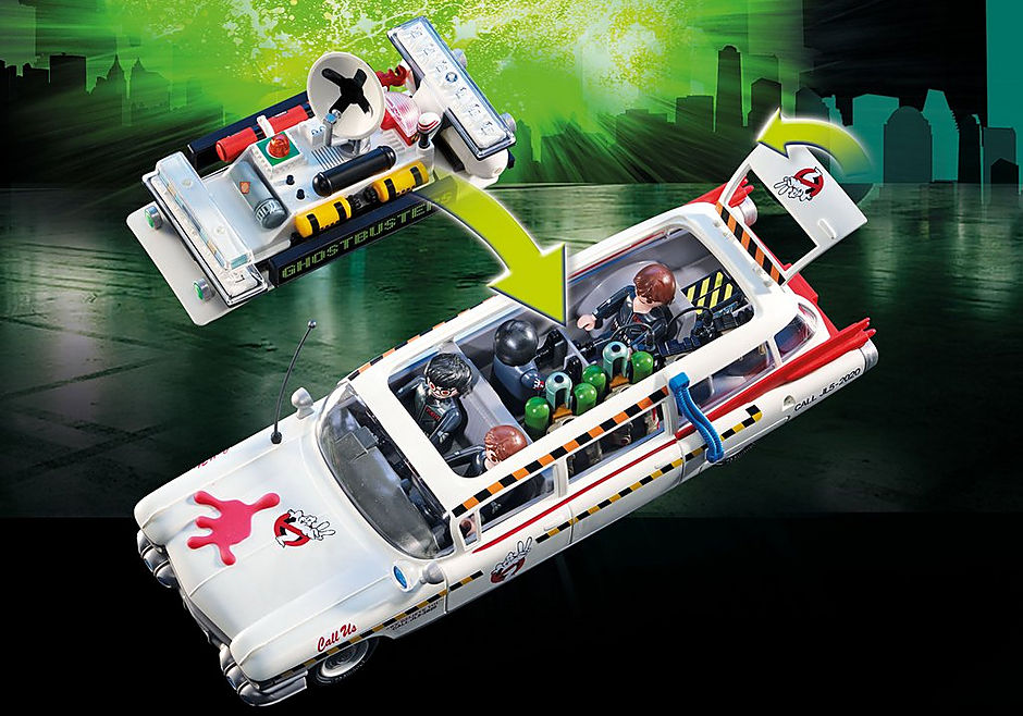http://media.playmobil.com/i/playmobil/70170_product_extra2/Ecto-1A Ghostbusters™