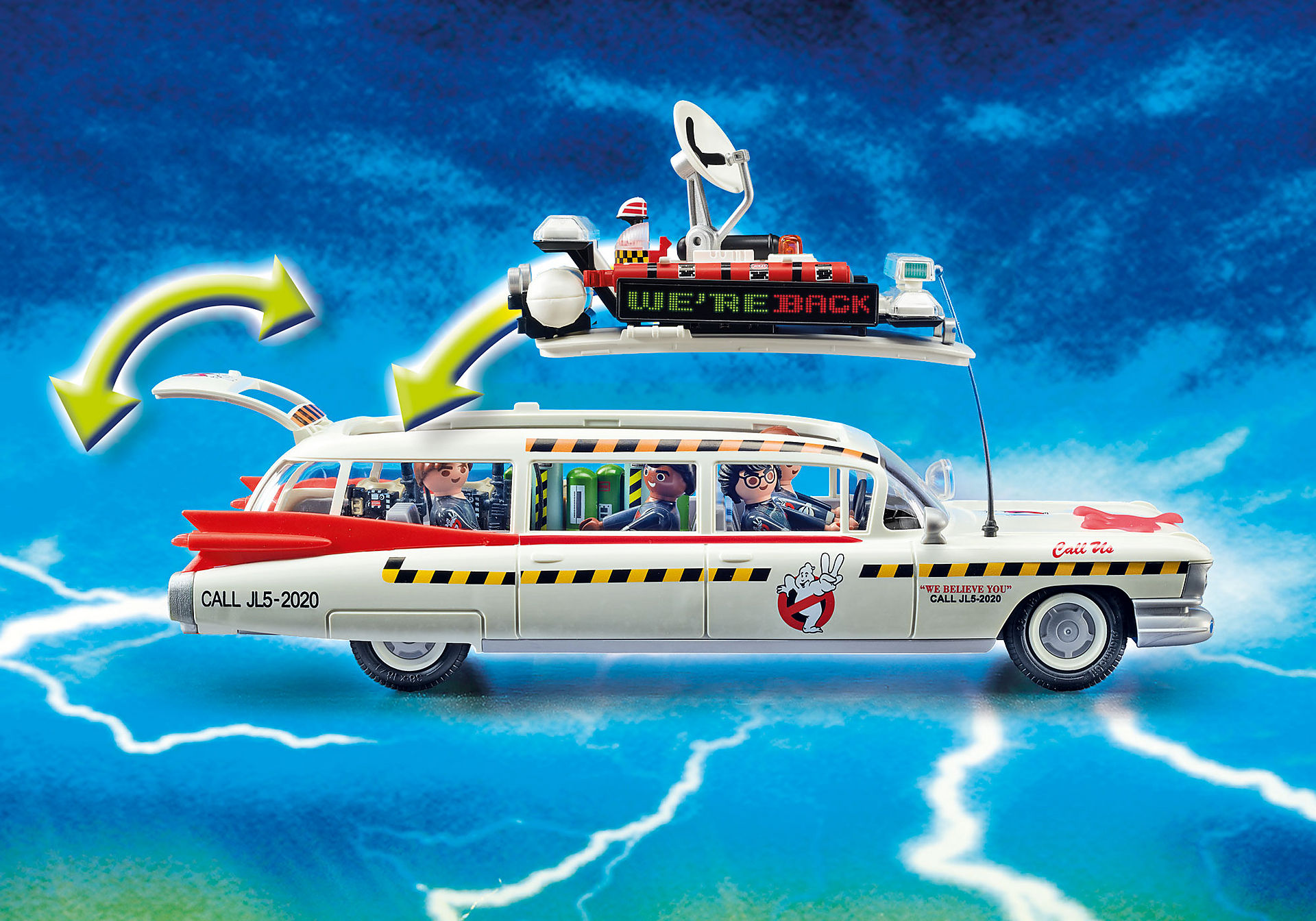 70170 Ghostbusters Ecto-1A zoom image7