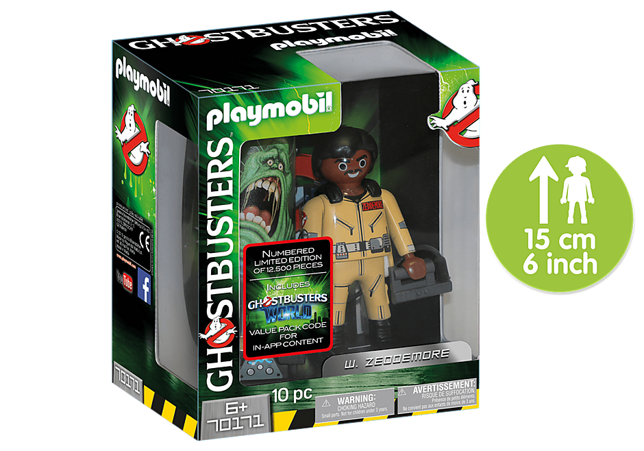 70171 Ghostbusters Collector´s Edition W. Zeddemore detail image 1