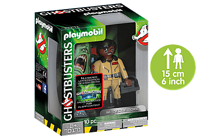 70171 Ghostbusters™ Figura Coleccionable W. Zeddemore