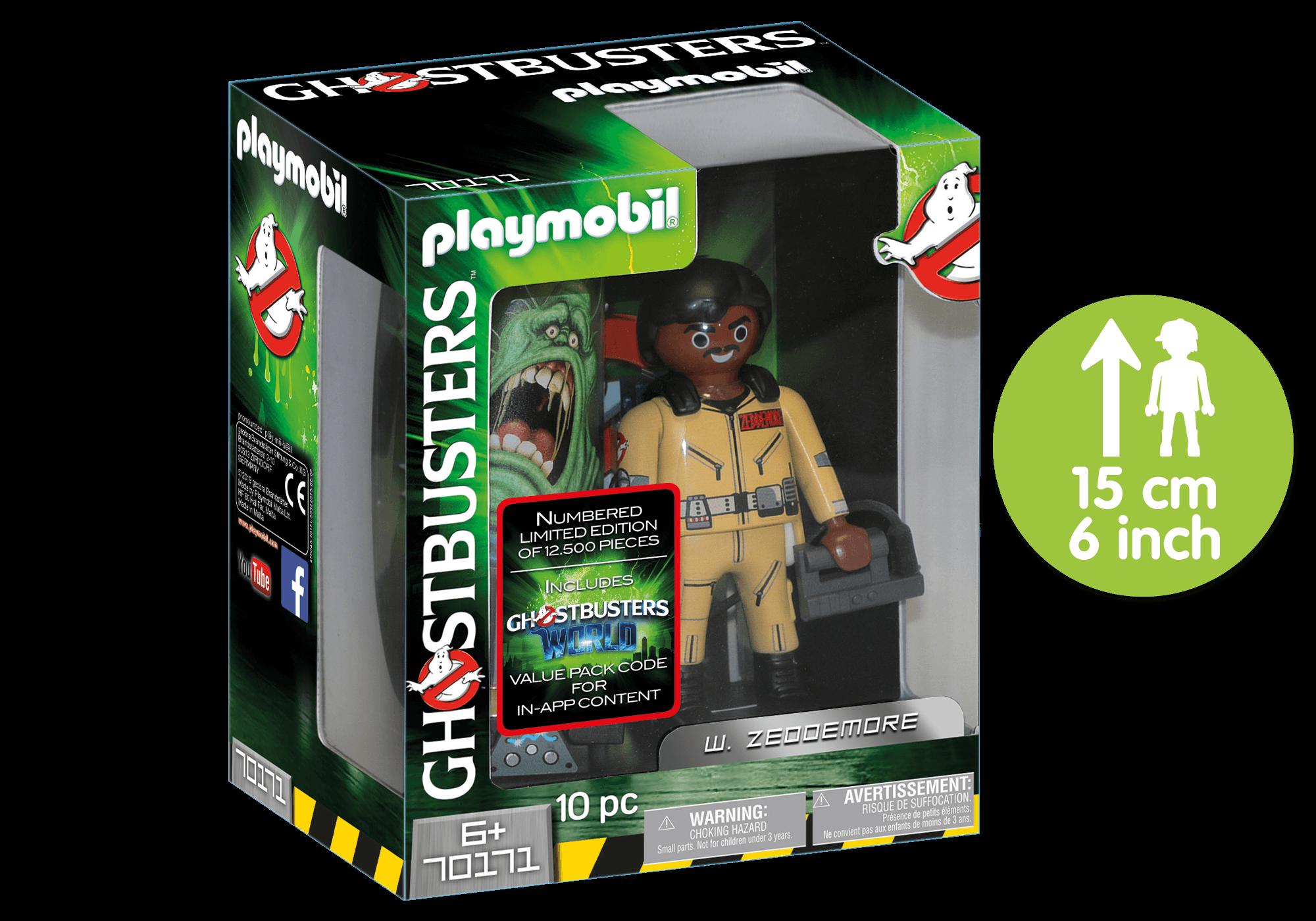 http://media.playmobil.com/i/playmobil/70171_product_detail/Ghostbusters™ Figura Colecionável W.Zeddemore