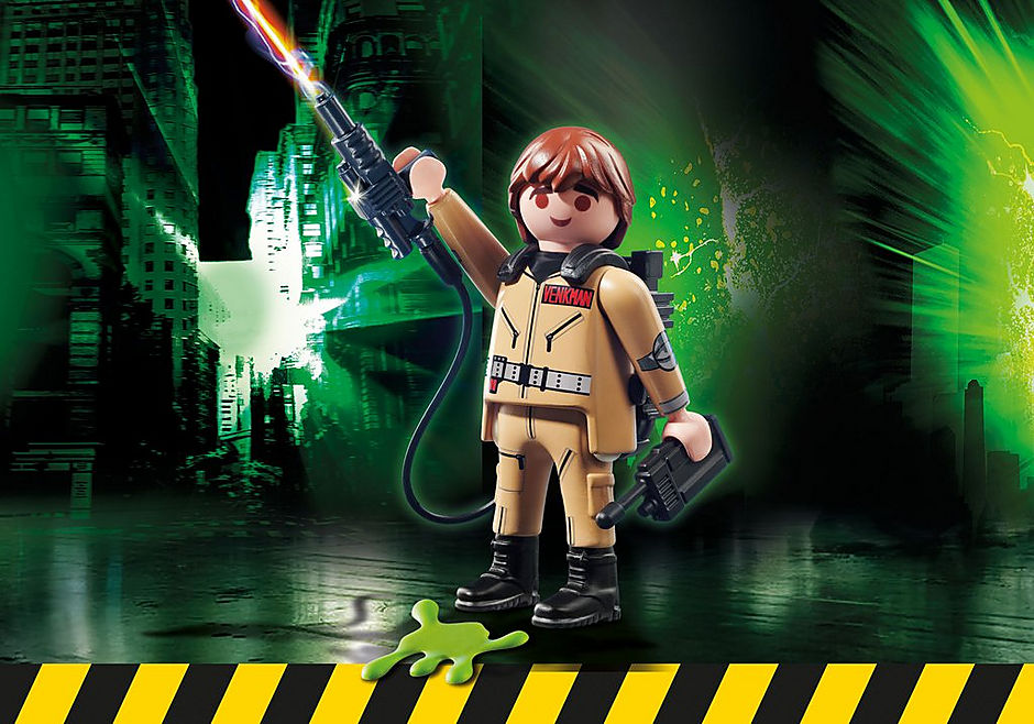 http://media.playmobil.com/i/playmobil/70172_product_box_front/Ghostbusters™ Figura Coleccionable P. Venkman