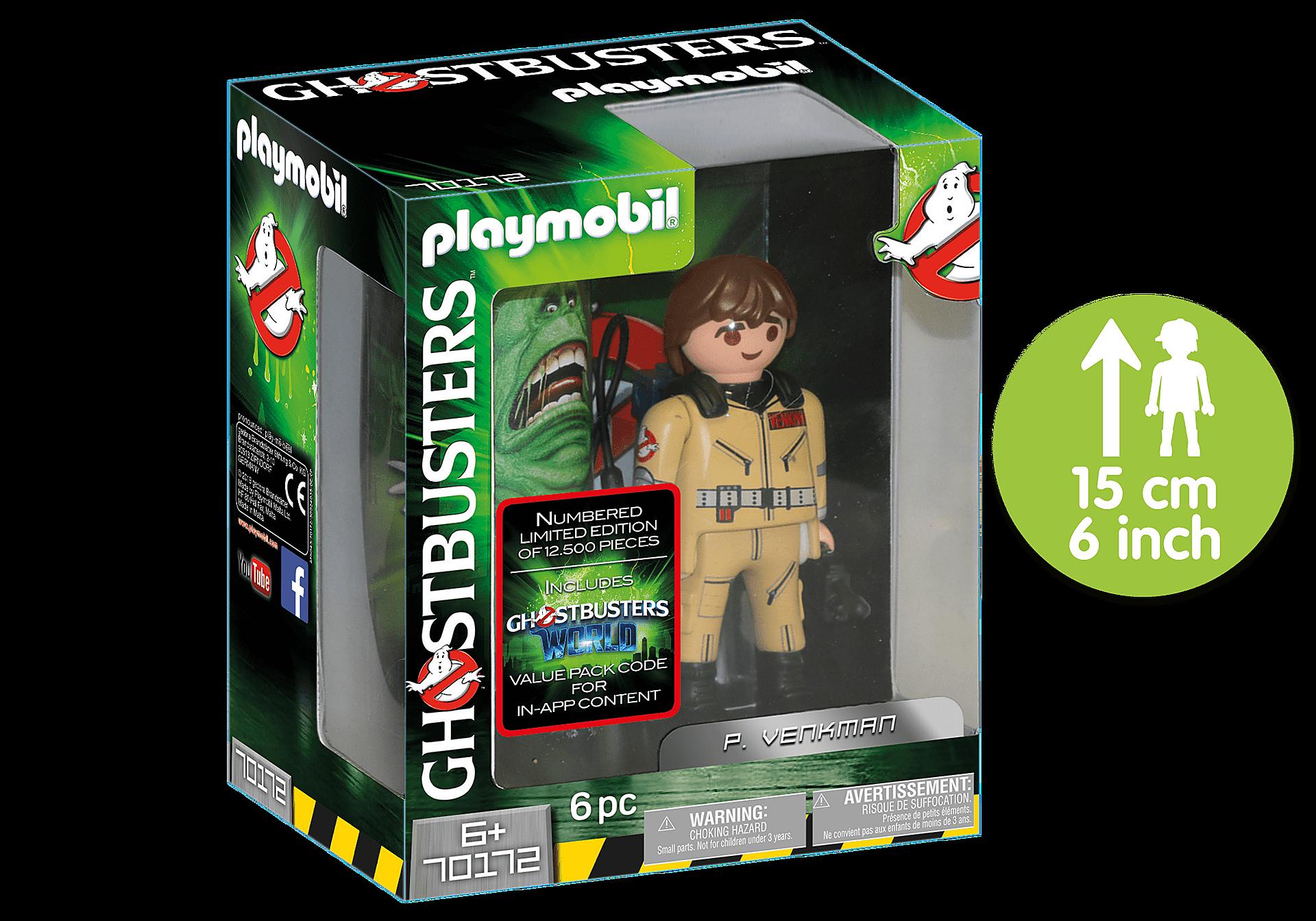 70172 Ghostbusters™ Figura Coleccionable P. Venkman zoom image1