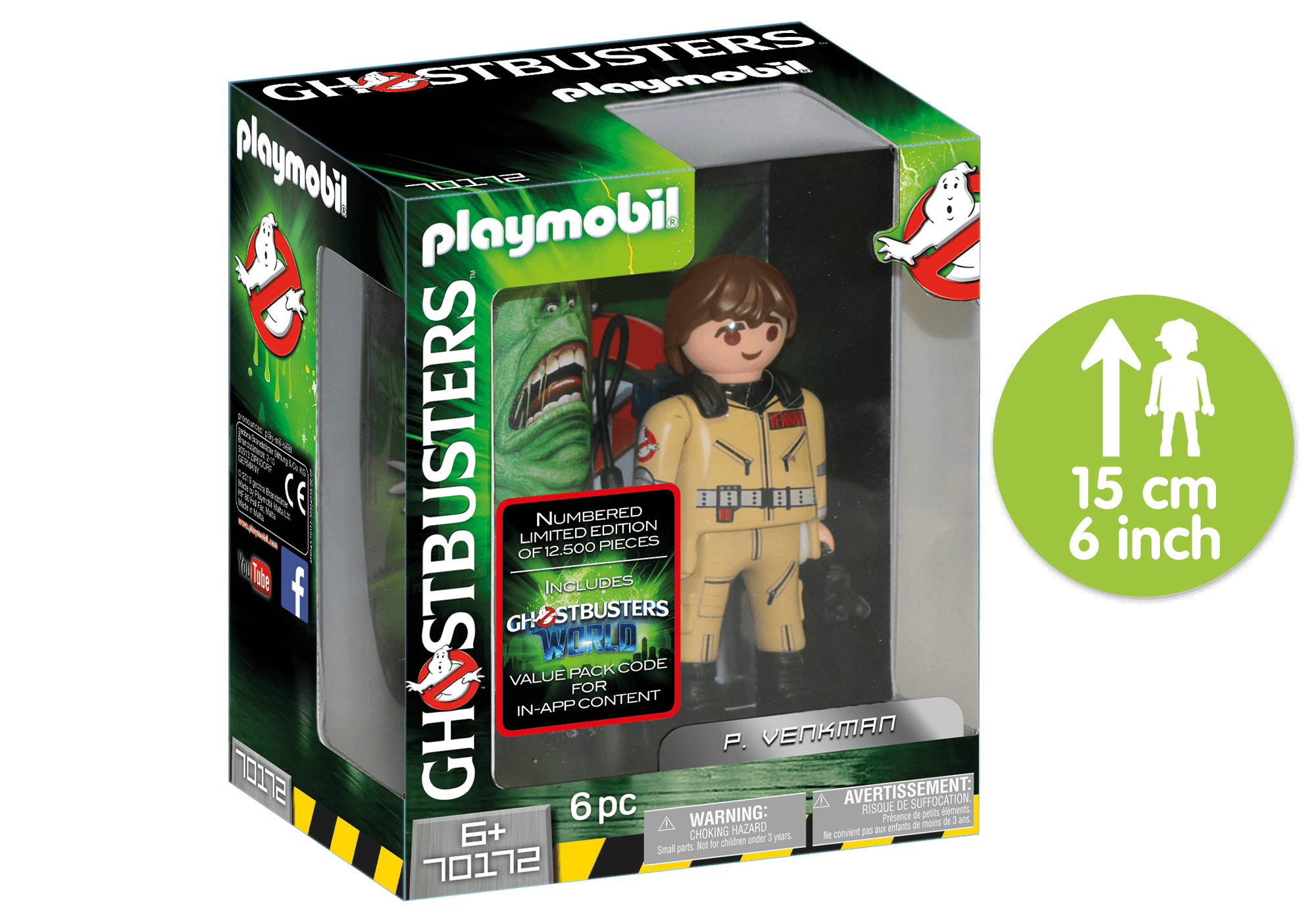 http://media.playmobil.com/i/playmobil/70172_product_detail/Ghostbusters™ Figura Coleccionable P. Venkman
