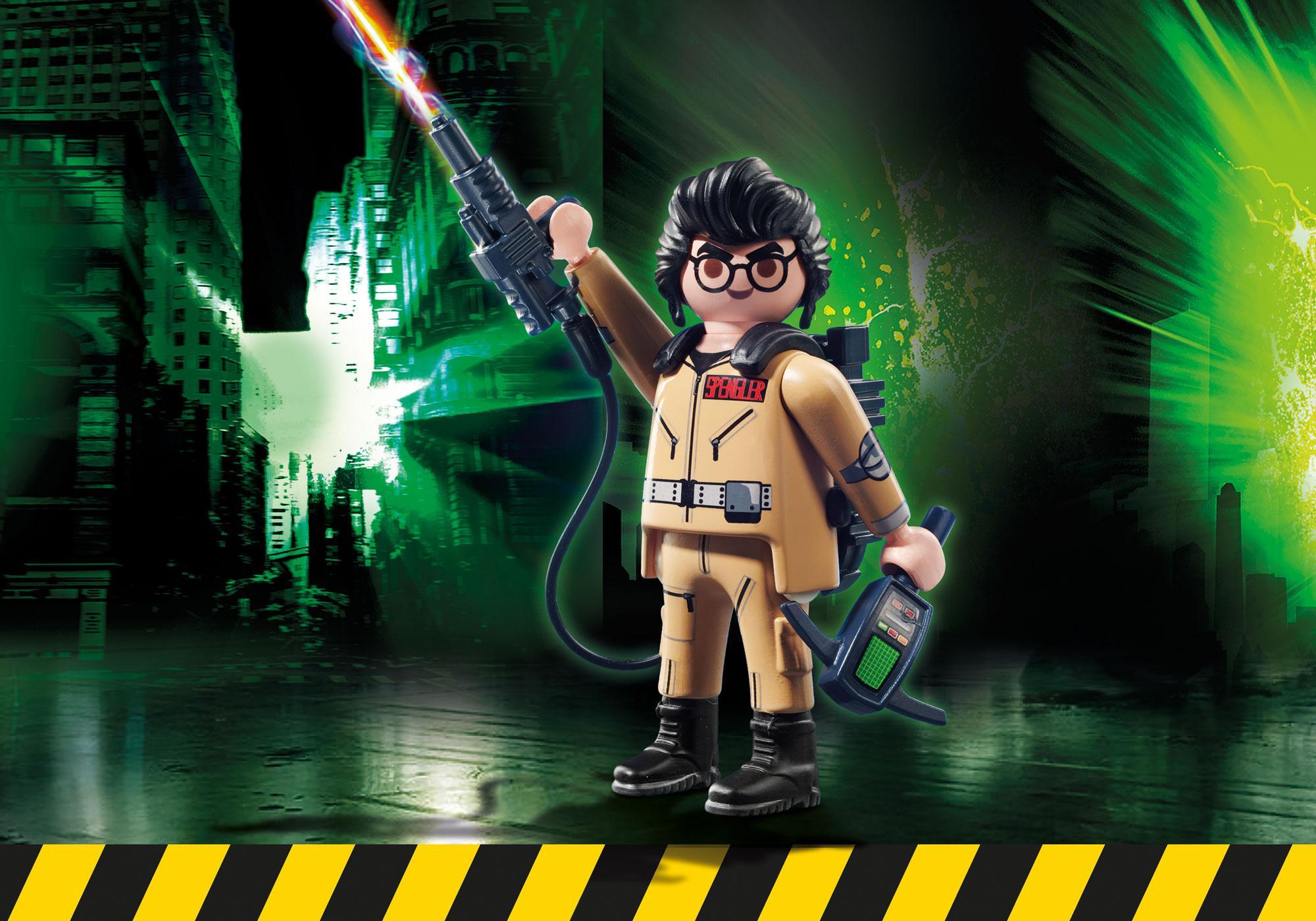 http://media.playmobil.com/i/playmobil/70173_product_box_front/Ghostbusters™ Figura Colecionável E.Spengler