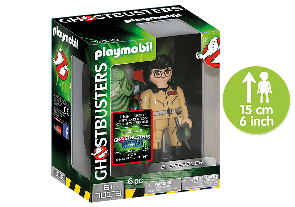 http://media.playmobil.com/i/playmobil/70173_product_detail/Ghostbusters™ Figura Coleccionable E. Spengler