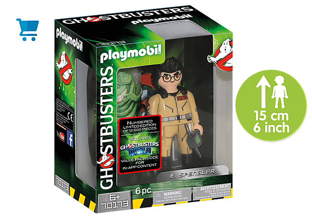70173_product_detail/Ghostbusters™ Figura Coleccionable E. Spengler