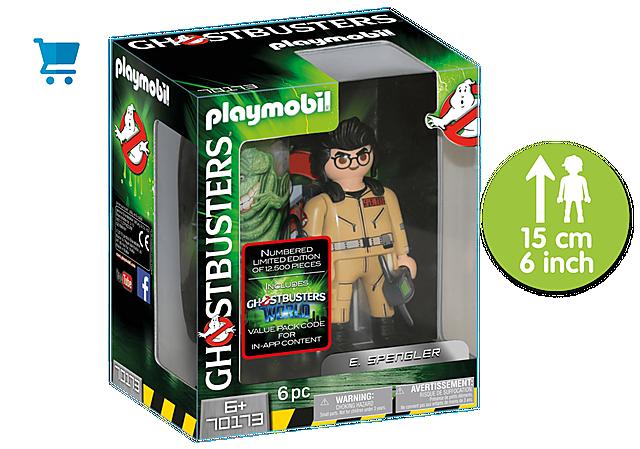 70173_product_detail/Ghostbusters™ Sammlerfigur E. Spengler