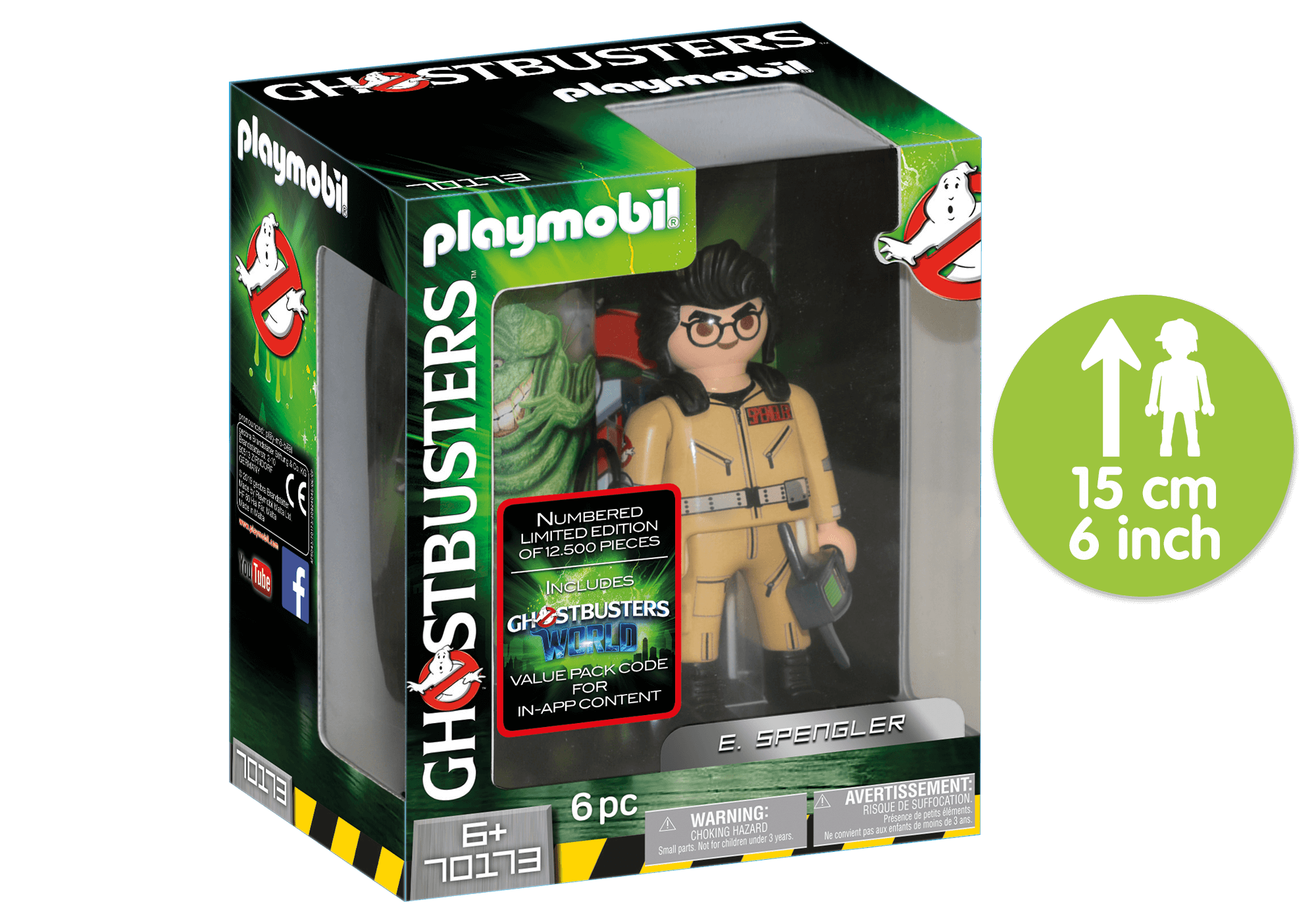 http://media.playmobil.com/i/playmobil/70173_product_detail/Ghostbusters™ Collection Figure E. Spengler