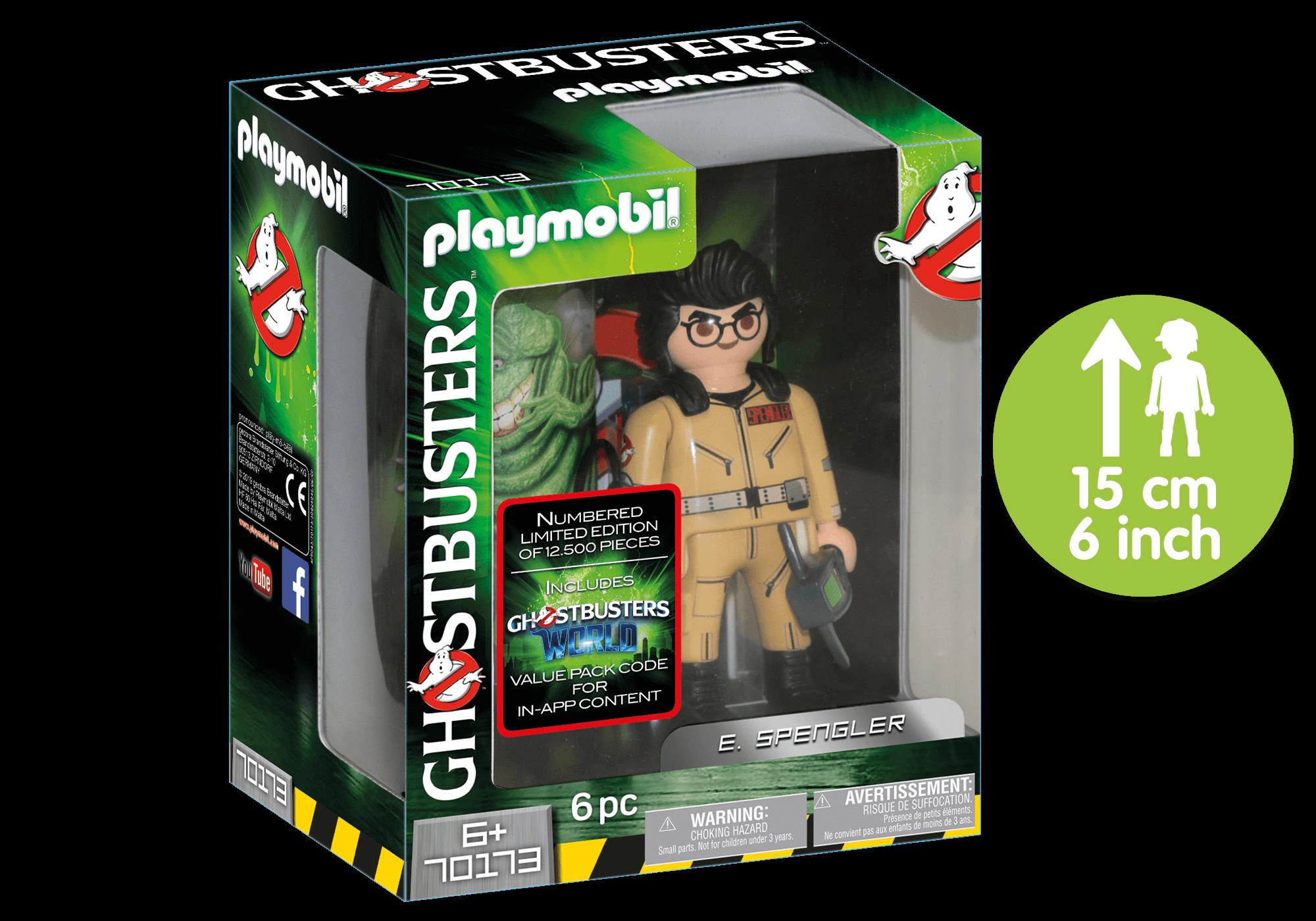 http://media.playmobil.com/i/playmobil/70173_product_detail/Ghostbusters™ Sammlerfigur E. Spengler