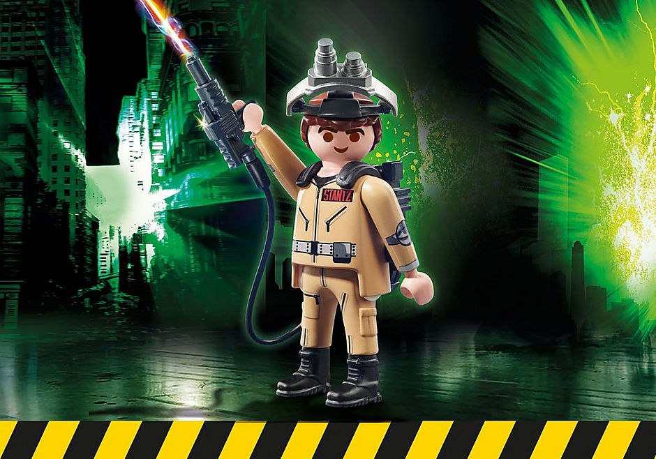 http://media.playmobil.com/i/playmobil/70174_product_box_front/Ghostbusters™ Samlefigur R. Stantz