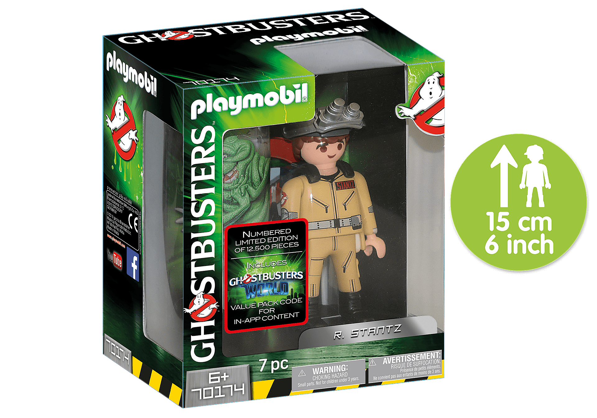 70174 Ghostbusters Collector´s Edition R. Stantz zoom image1