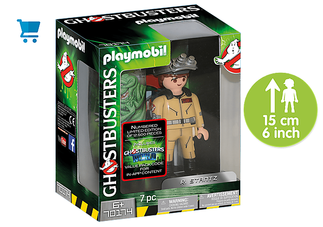 70174_product_detail/Ghostbusters™ Collection Figure R. Stantz