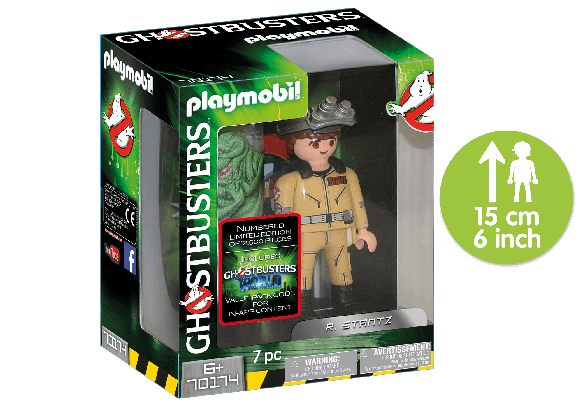 70174_product_detail/Ghostbusters™ Samlarutgåva R. Stantz