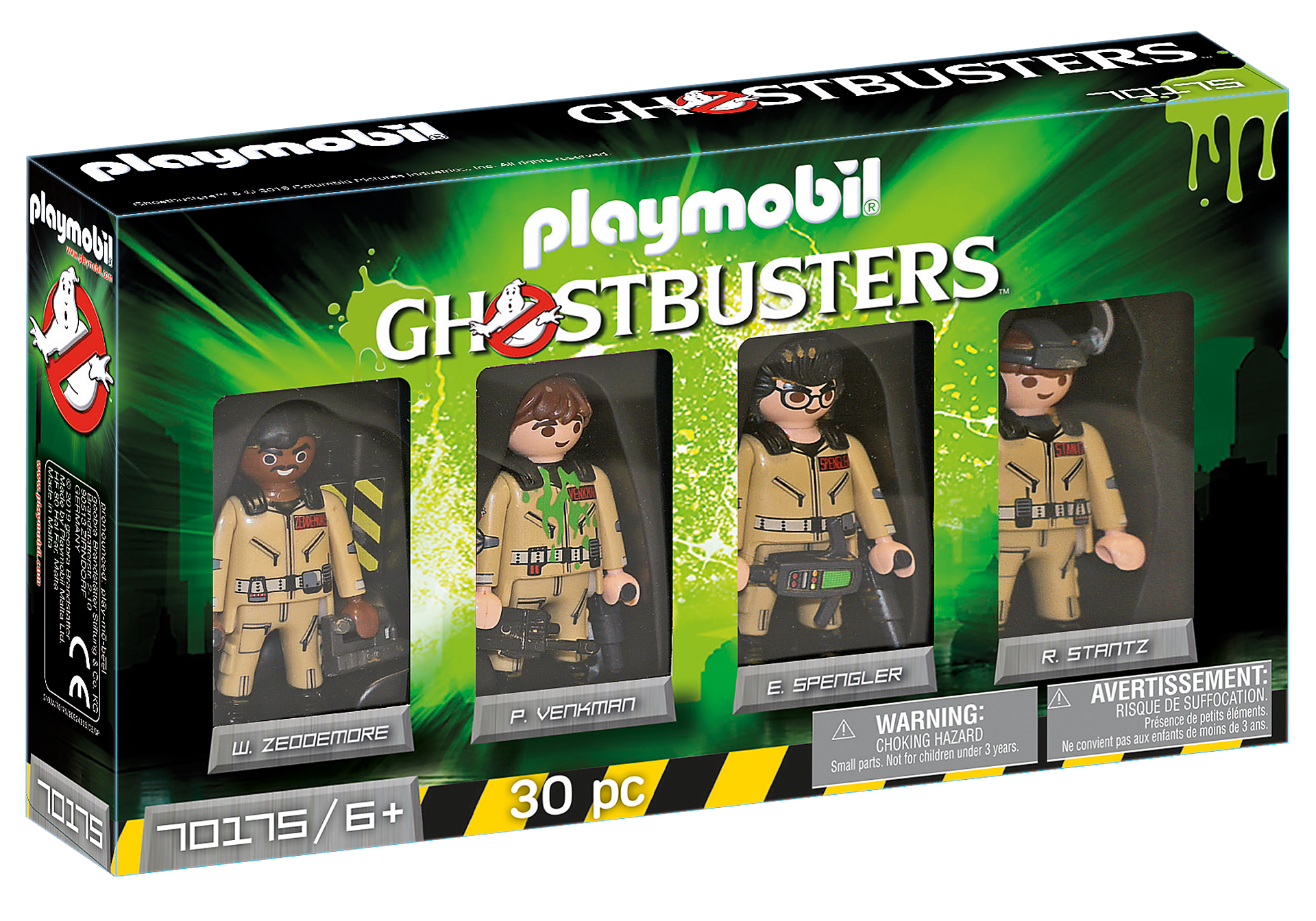 http://media.playmobil.com/i/playmobil/70175_product_box_front/Ghostbusters™ Set de Figuras Ghostbusters™