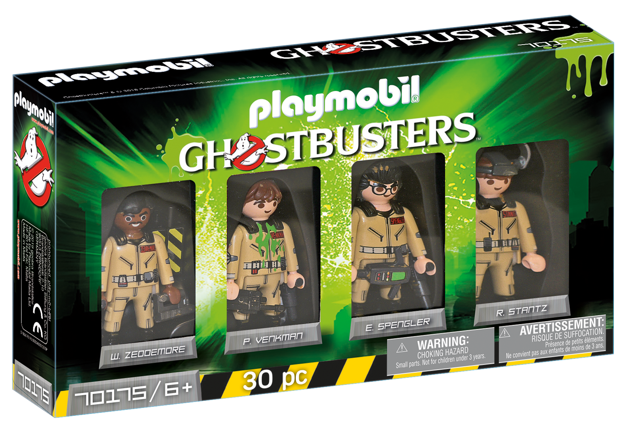 http://media.playmobil.com/i/playmobil/70175_product_box_front/Ghostbusters™ Figursæt Ghostbusters™