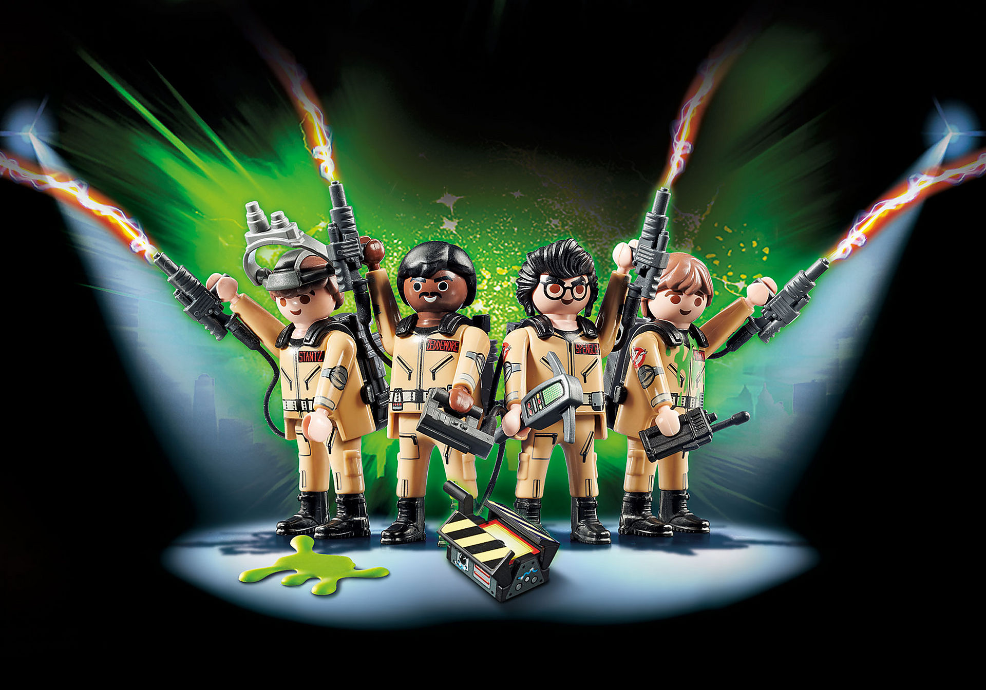 http://media.playmobil.com/i/playmobil/70175_product_detail/Ghostbusters™ Set de Figuras Ghostbusters™