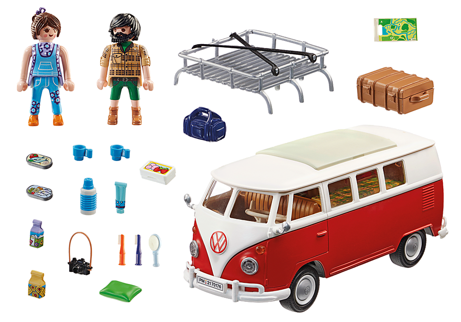 70176 Volkswagen T1 Camping Bus detail image 4