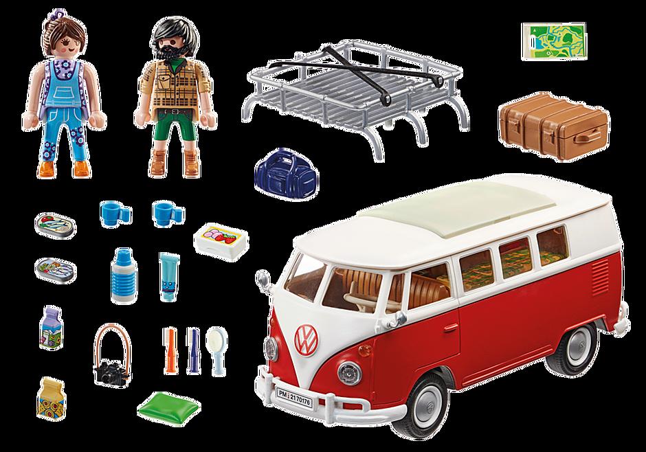 70176 Volkswagen T1 campingbus detail image 4