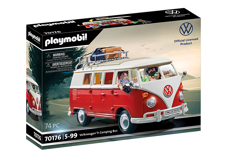 70176 Volkswagen T1 Camping Bus detail image 3