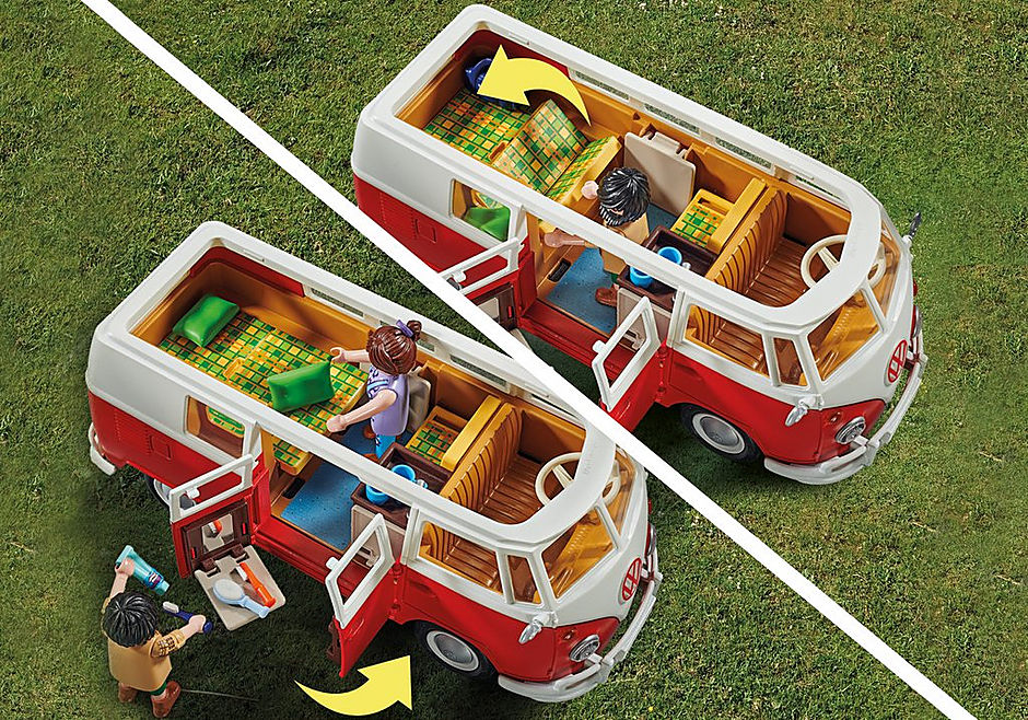 70176 Volkswagen T1 Camping Bus detail image 6