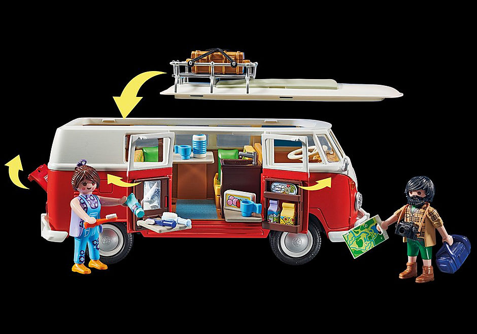 70176 Volkswagen T1 Camping Bus detail image 8