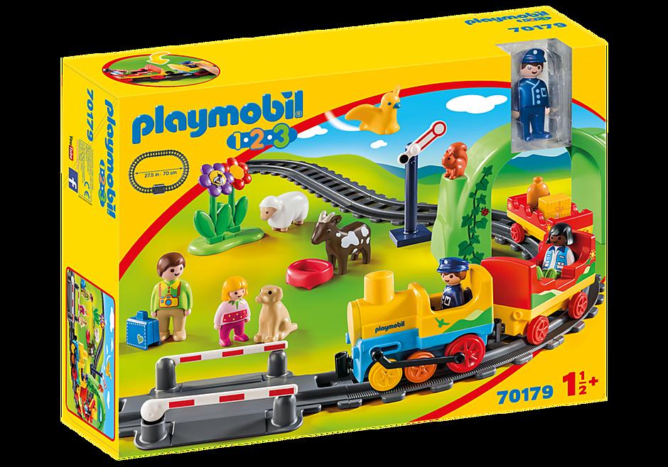 70179 Train avec passagers et circuit detail image 2