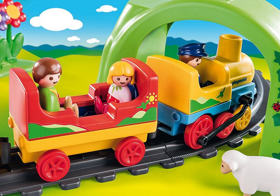 70179 Train avec passagers et circuit detail image 4