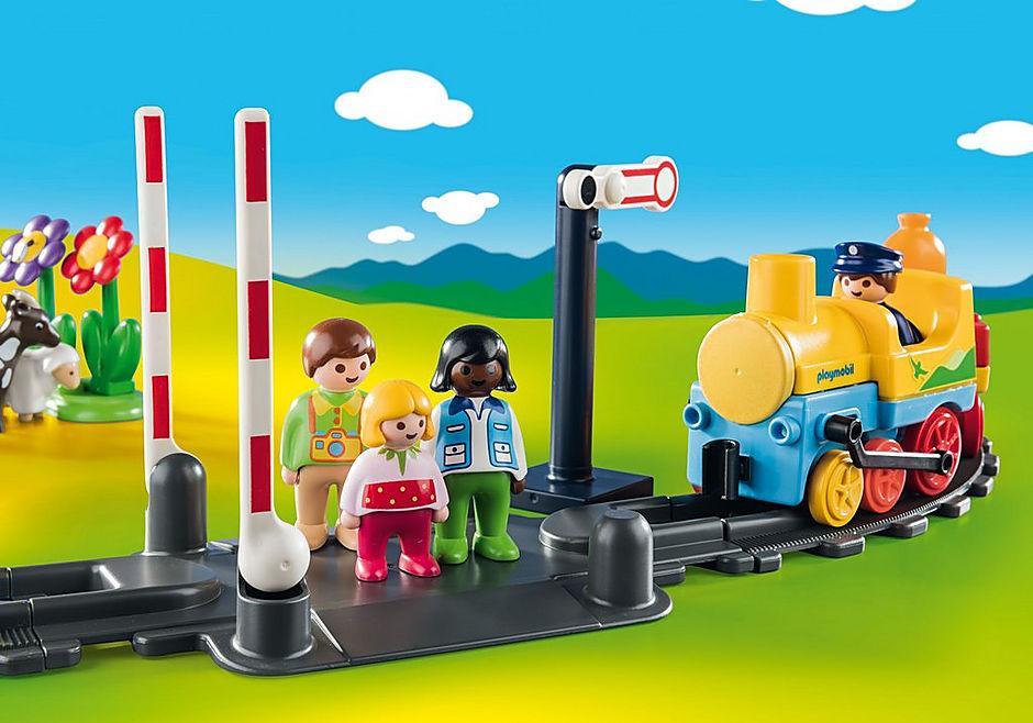 70179 Train avec passagers et circuit detail image 5
