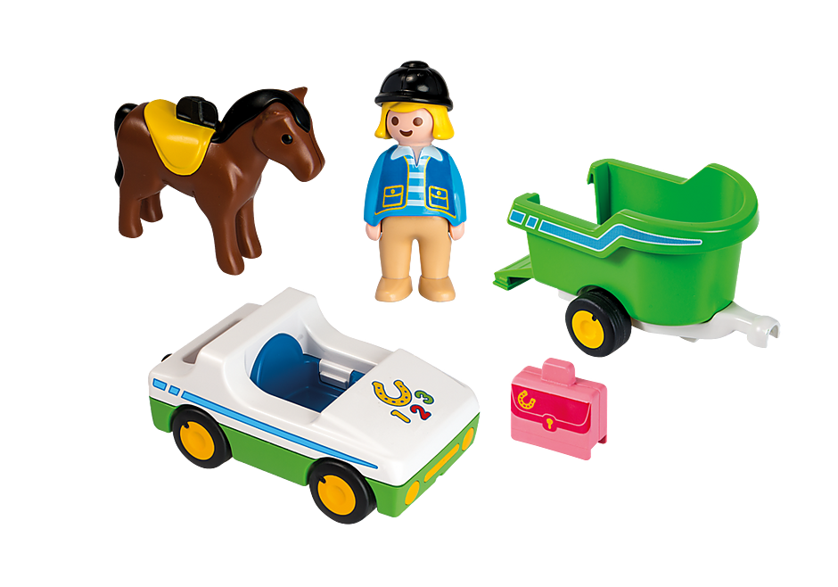 http://media.playmobil.com/i/playmobil/70181_product_box_back/Auto con trasporto cavalli 1.2.3