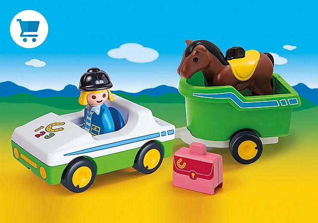 70181_product_detail/Wagen met paardentrailer