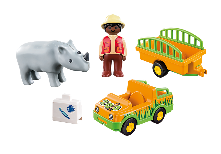 http://media.playmobil.com/i/playmobil/70182_product_box_back/Vétérinaire avec véhicule et rhinocéros