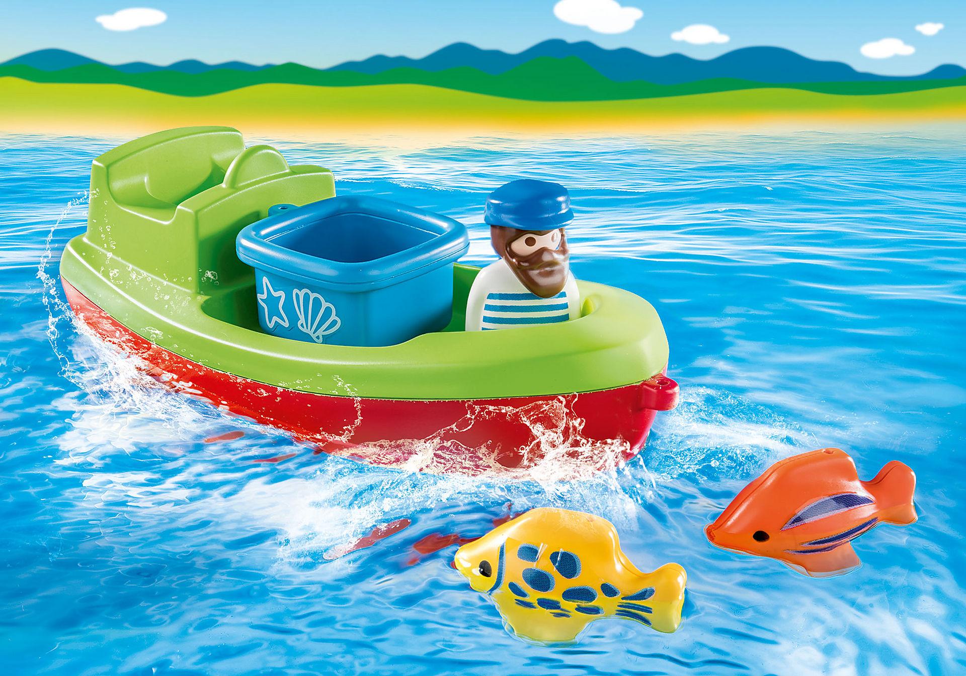 70183 Fisker med båd zoom image5