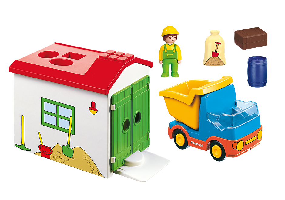 70184 Ciężarówka z garażem z funkcją sortera detail image 3