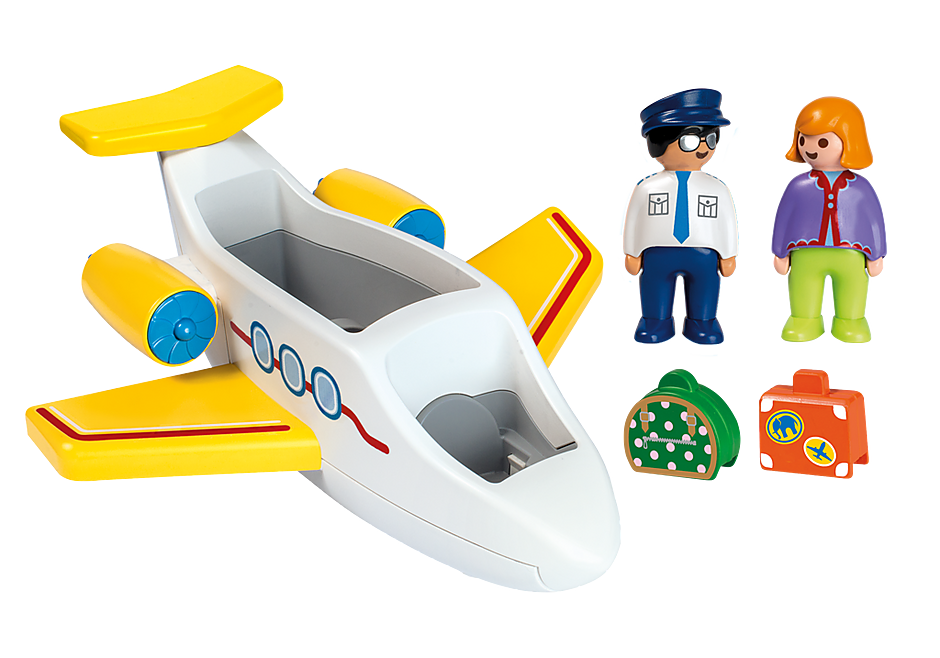 70185 1.2.3 Avión con Pasajero detail image 3