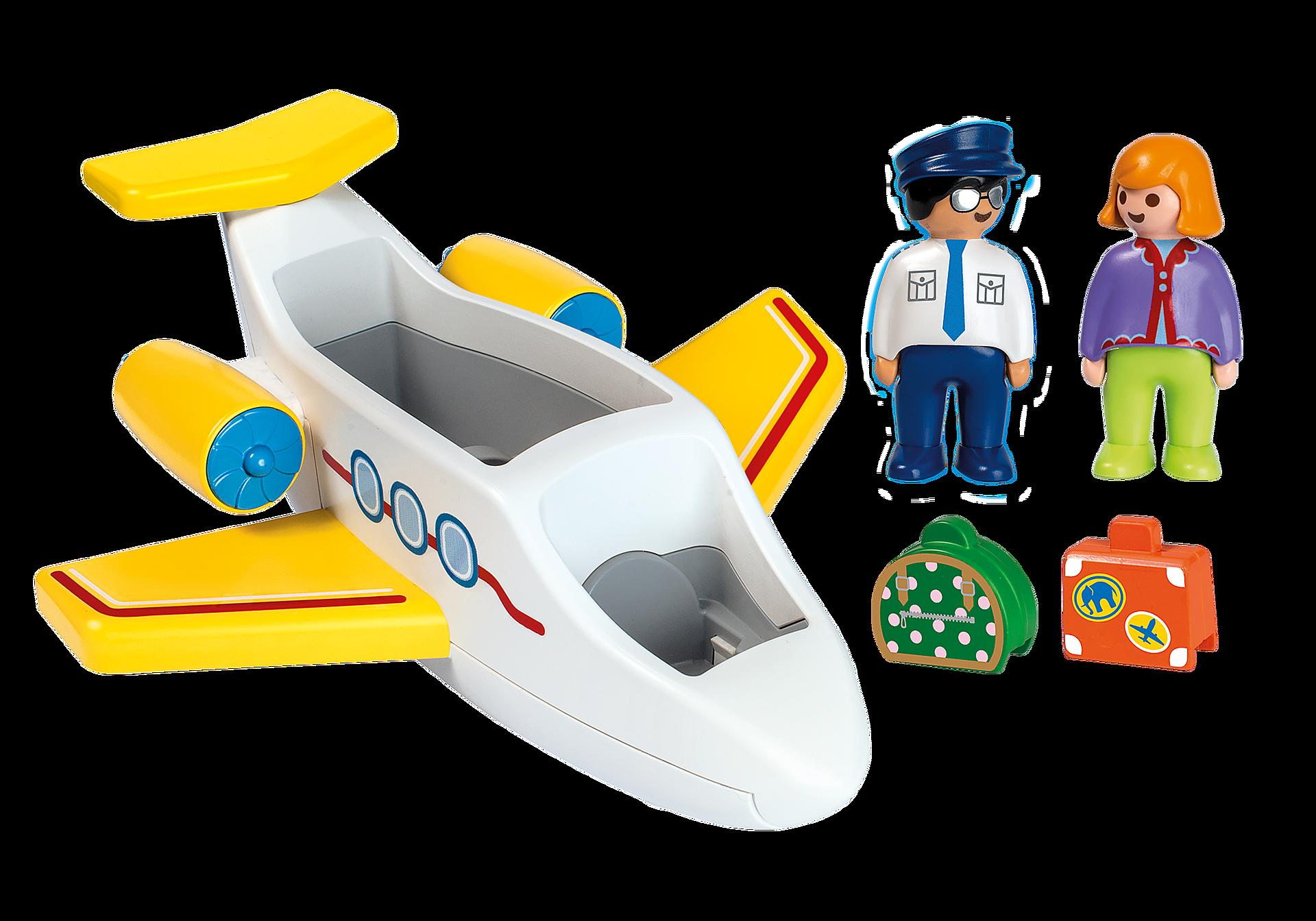70185 Avion avec pilote et vacancière zoom image3