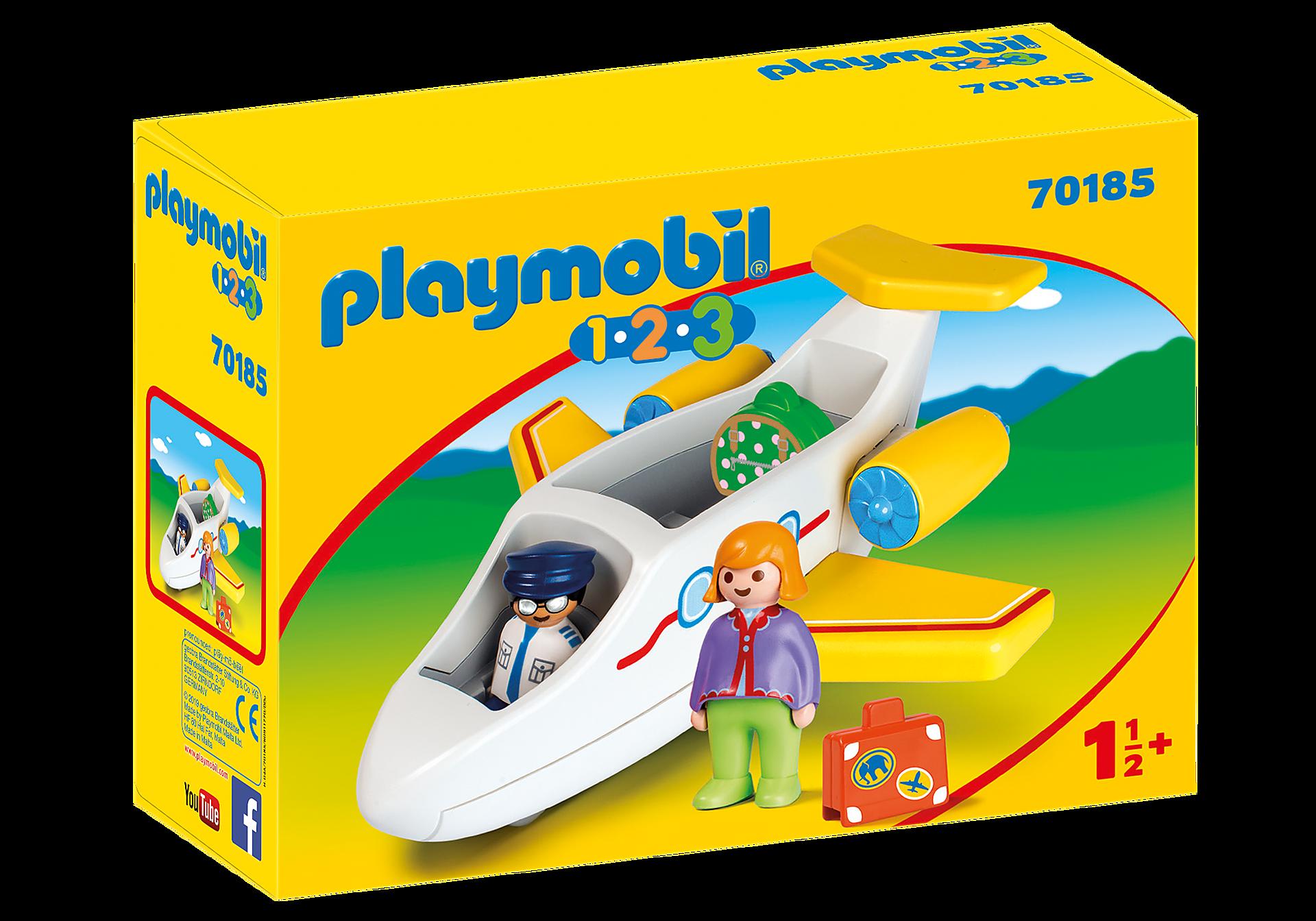 http://media.playmobil.com/i/playmobil/70185_product_box_front/Avion avec pilote et vacancière