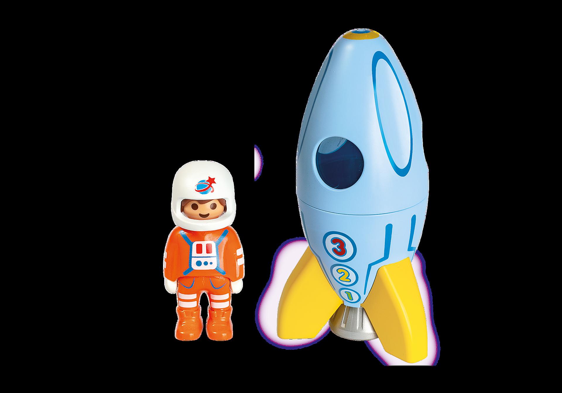 70186 Astronaut med raket zoom image3