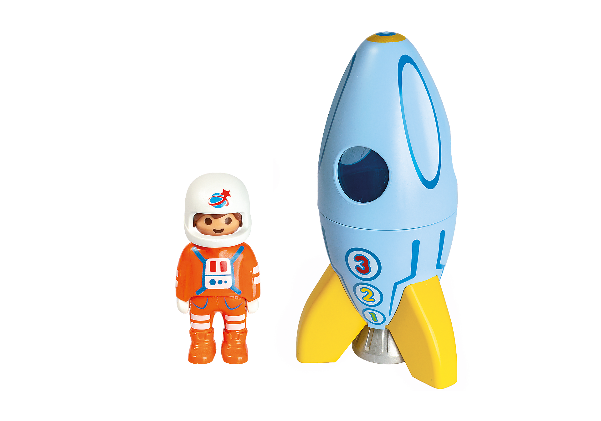 70186 Astronaut with Rocket zoom image3