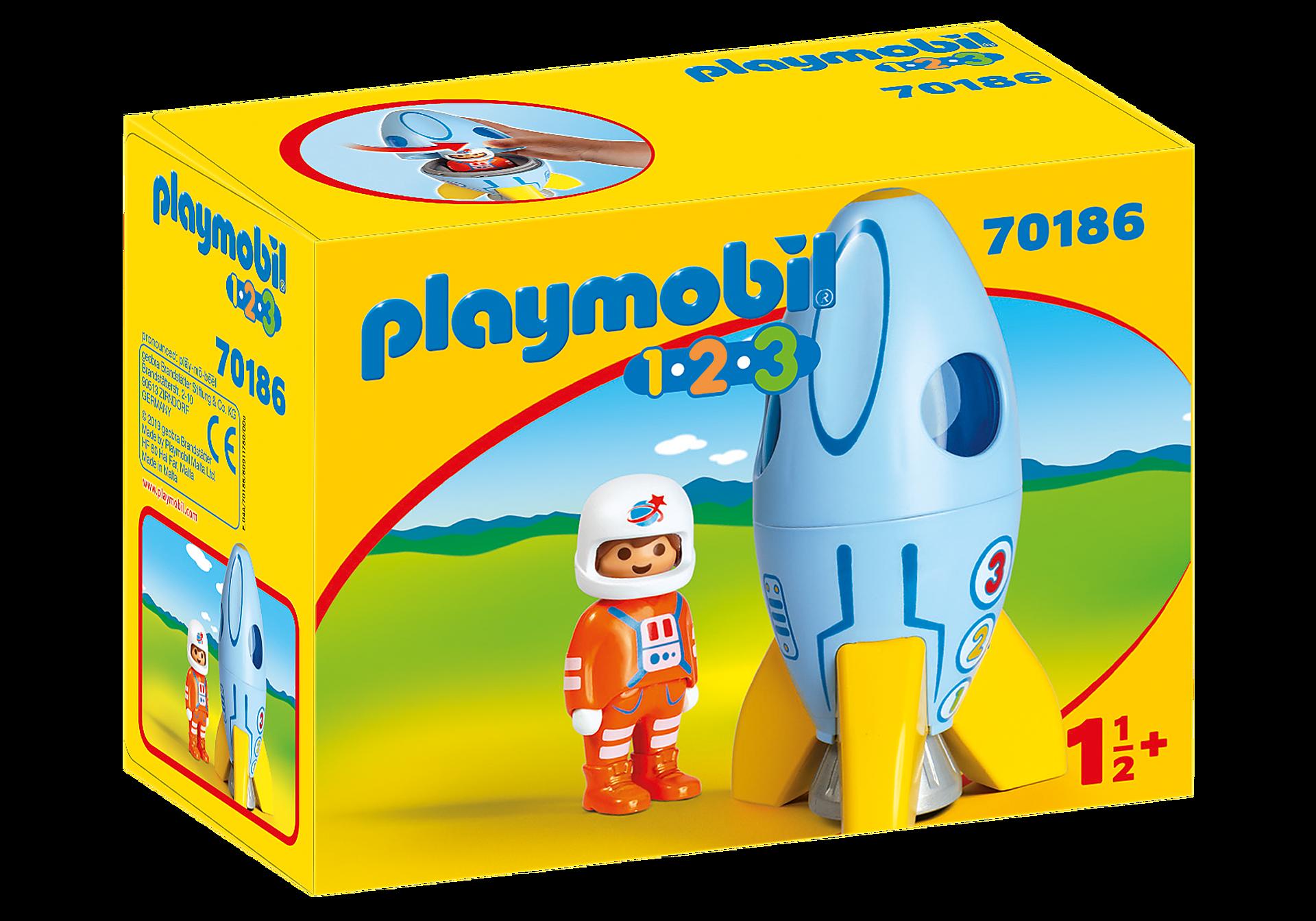 70186 1.2.3 Astronauta con Cohete zoom image2