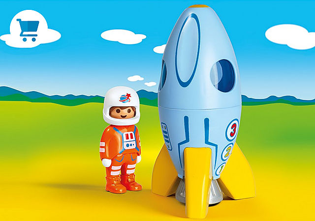 70186_product_detail/Astronaut with rocket
