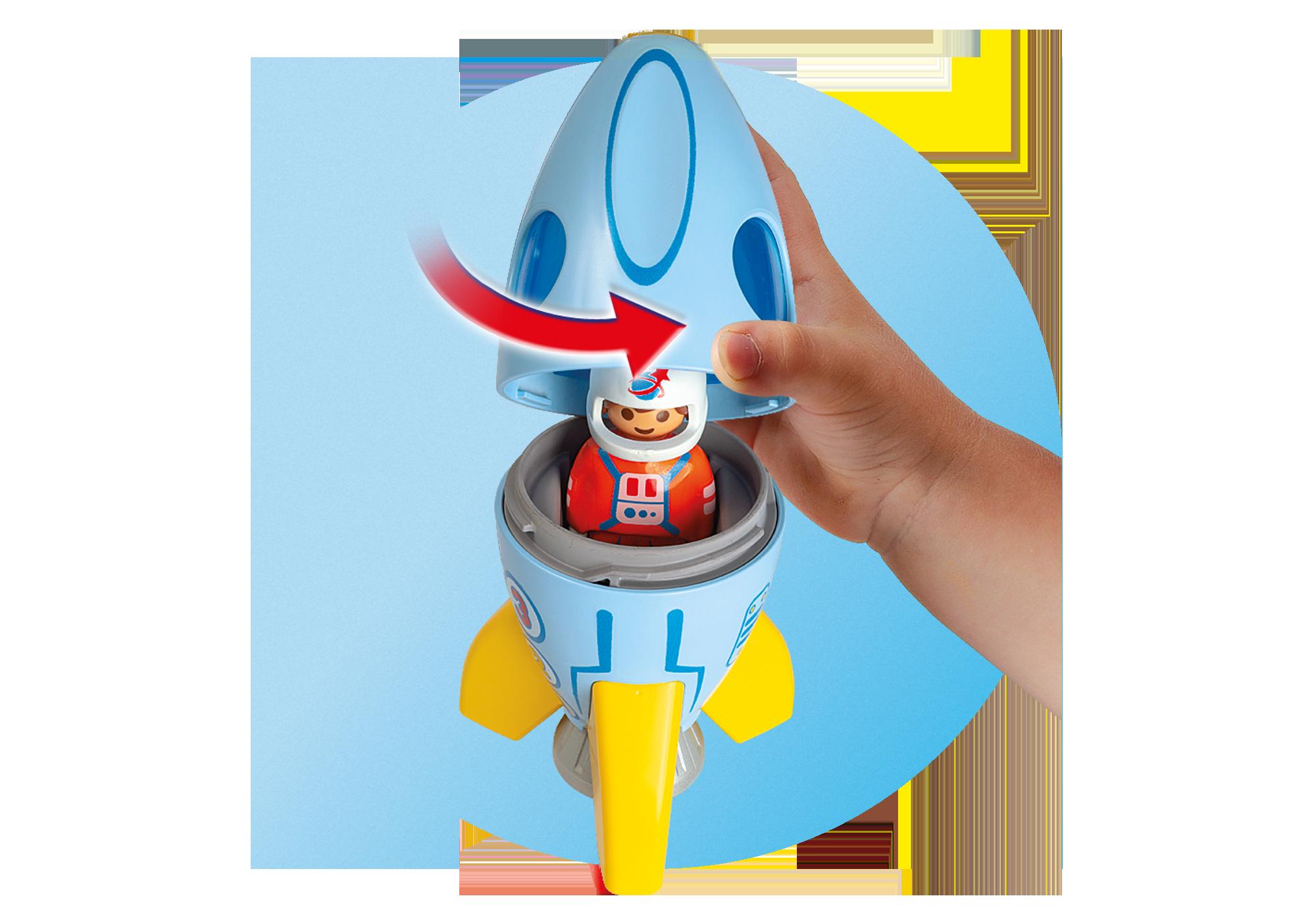 http://media.playmobil.com/i/playmobil/70186_product_extra1/Astronaut med raket
