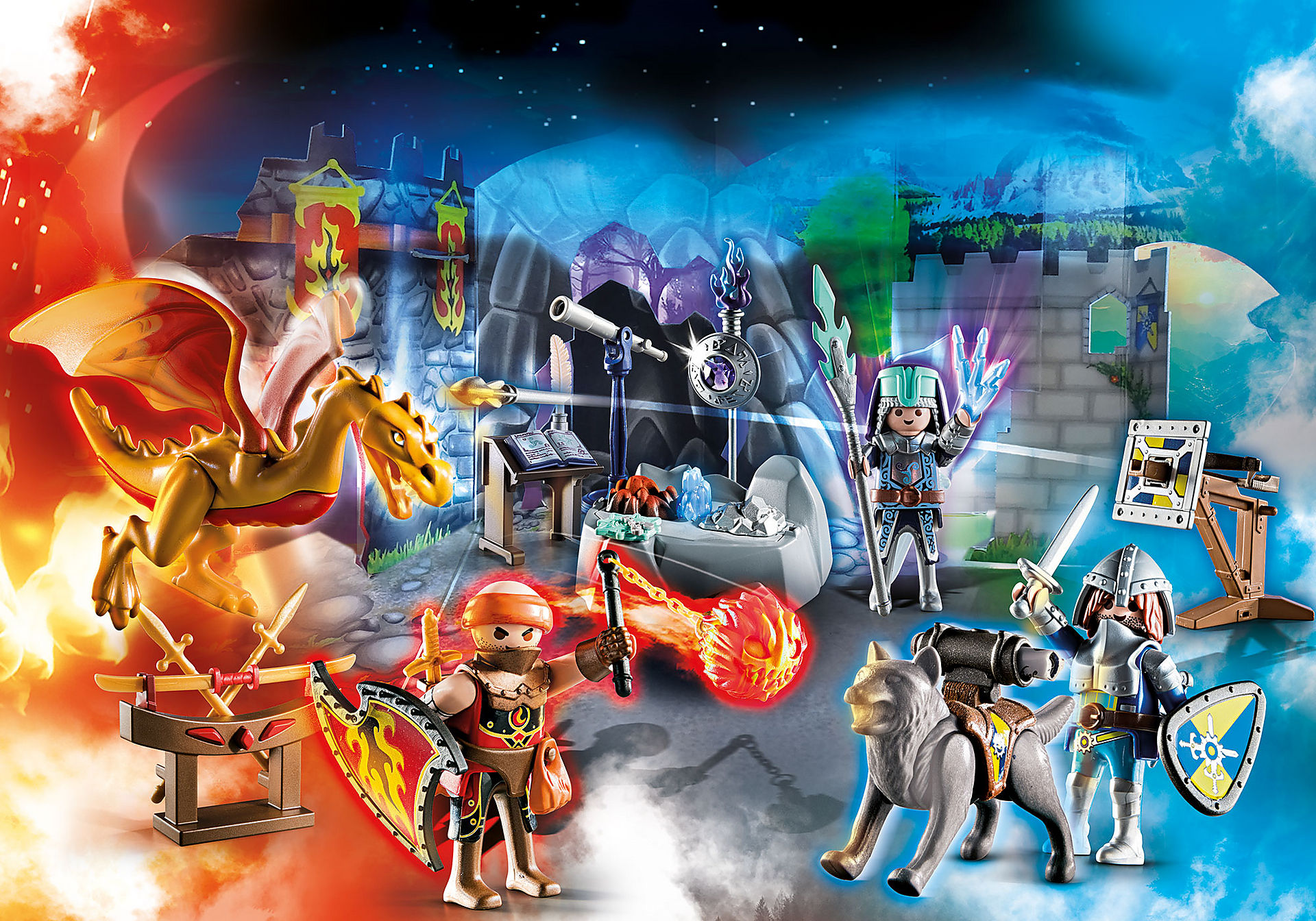 http://media.playmobil.com/i/playmobil/70187_product_extra1/Advent Calendar - Fight for the magic Stone