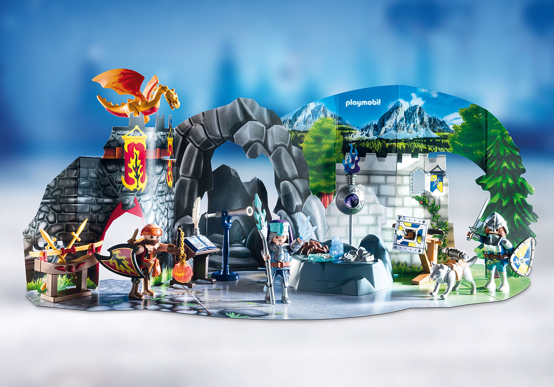 http://media.playmobil.com/i/playmobil/70187_product_extra3/Advent Calendar - Fight for the magic Stone