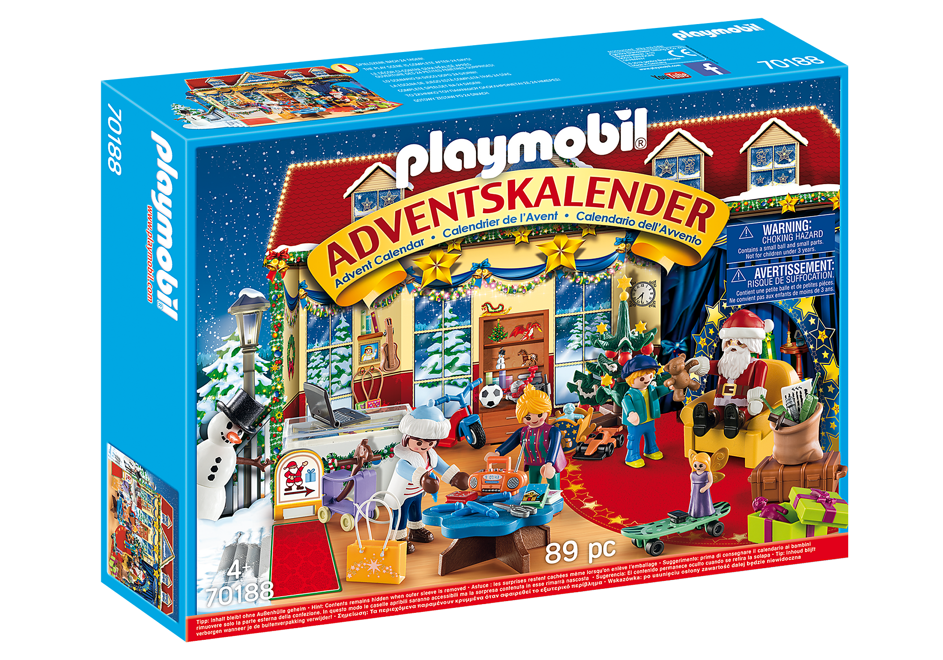 70188 Advent Calendar - Christmas Toy Store zoom image2