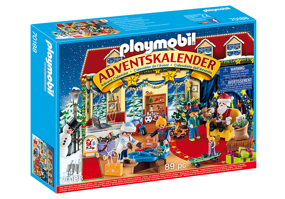 70188 Adventskalender 'speelgoedwinkel' detail image 2