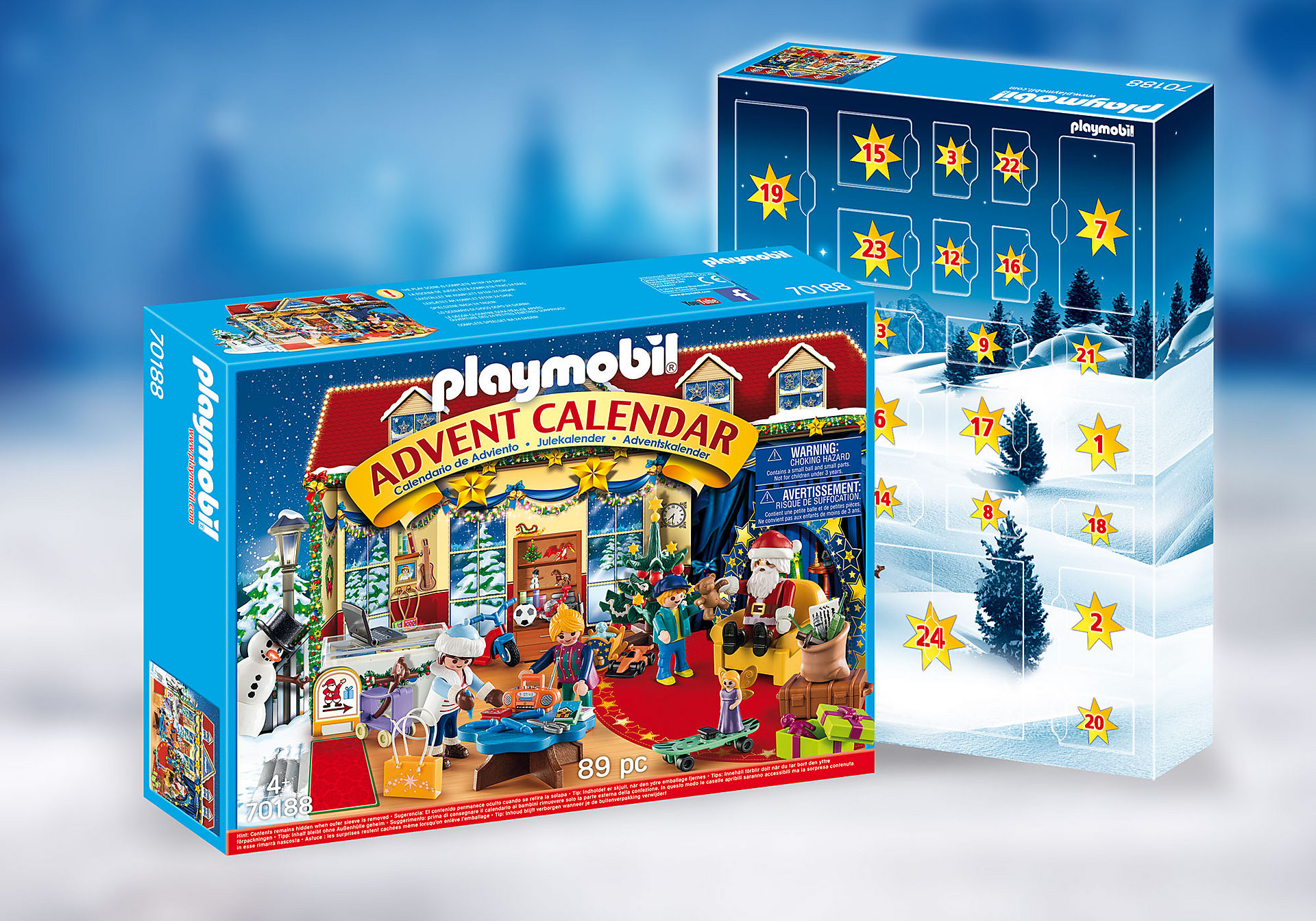 70188 Advent Calendar - Christmas Toy Store zoom image1