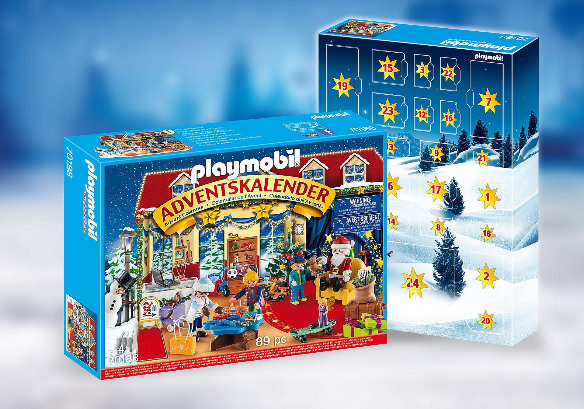 70188 Calendario dell'Avvento - Il negozio dei giocattoli di Natale zoom image1