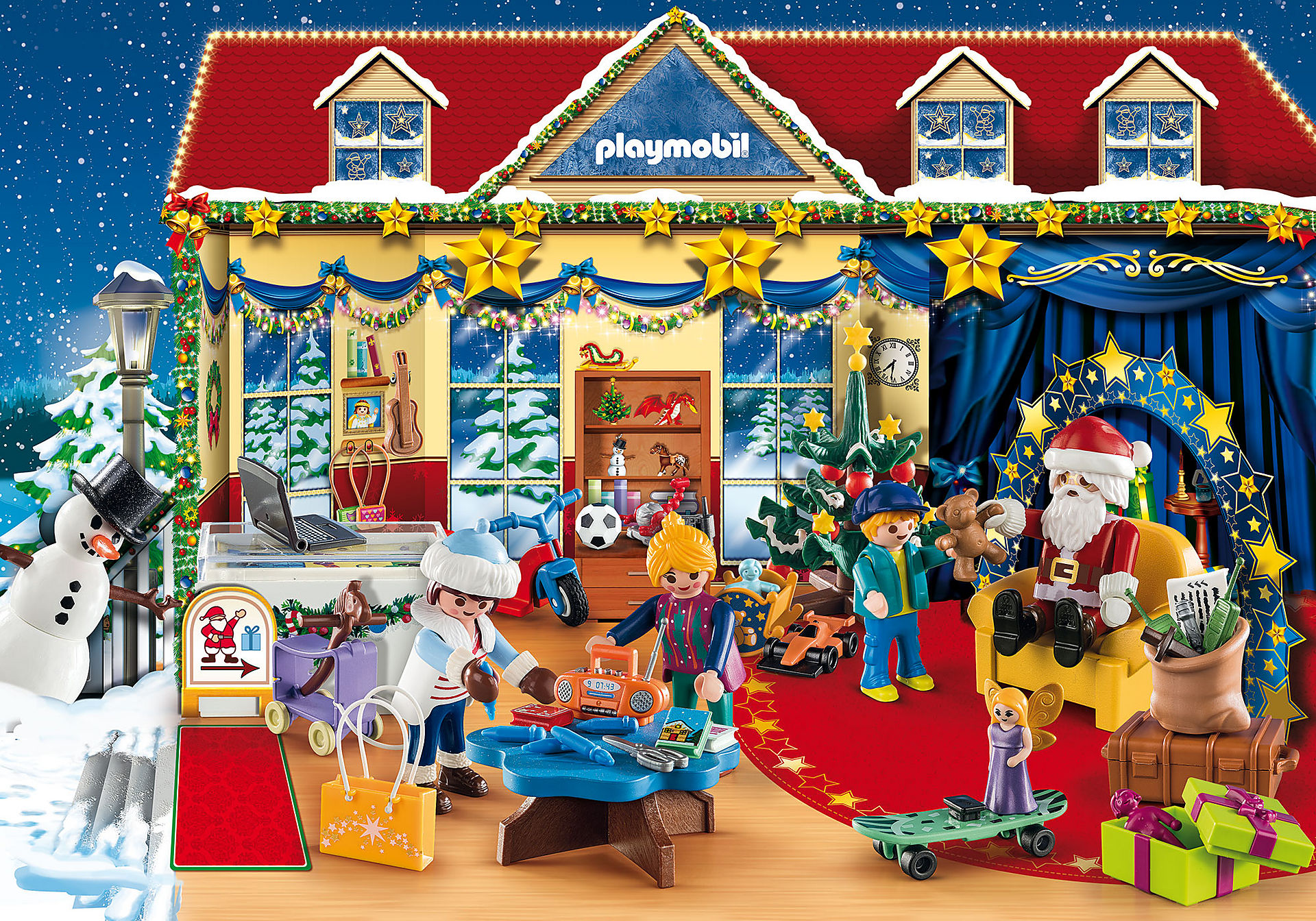 70188 Advent Calendar - Christmas Toy Store zoom image3