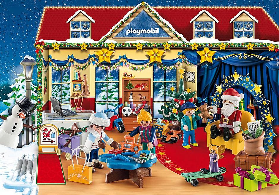 Playmobil Weihnachten.Adventskalender Weihnachten Im Spielwarengeschaft 70188